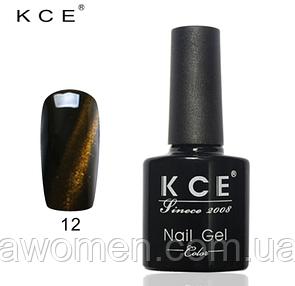 Гель- лак KCE 12 мл (кошачий глаз) № 12
