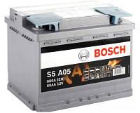 Аккумулятор Автомобильный Bosch 60 А  Бош 60 Ампер Start-Stop BO 0092S5A050