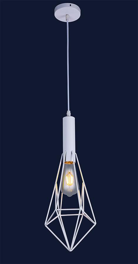 Світильник підвісний LOFT L521204-1 WH
