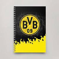 Блокнот Тетрадь Borussia Dortmund 3 (Футбол)