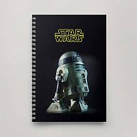 Блокнот Тетрадь Star Wars, R2D2
