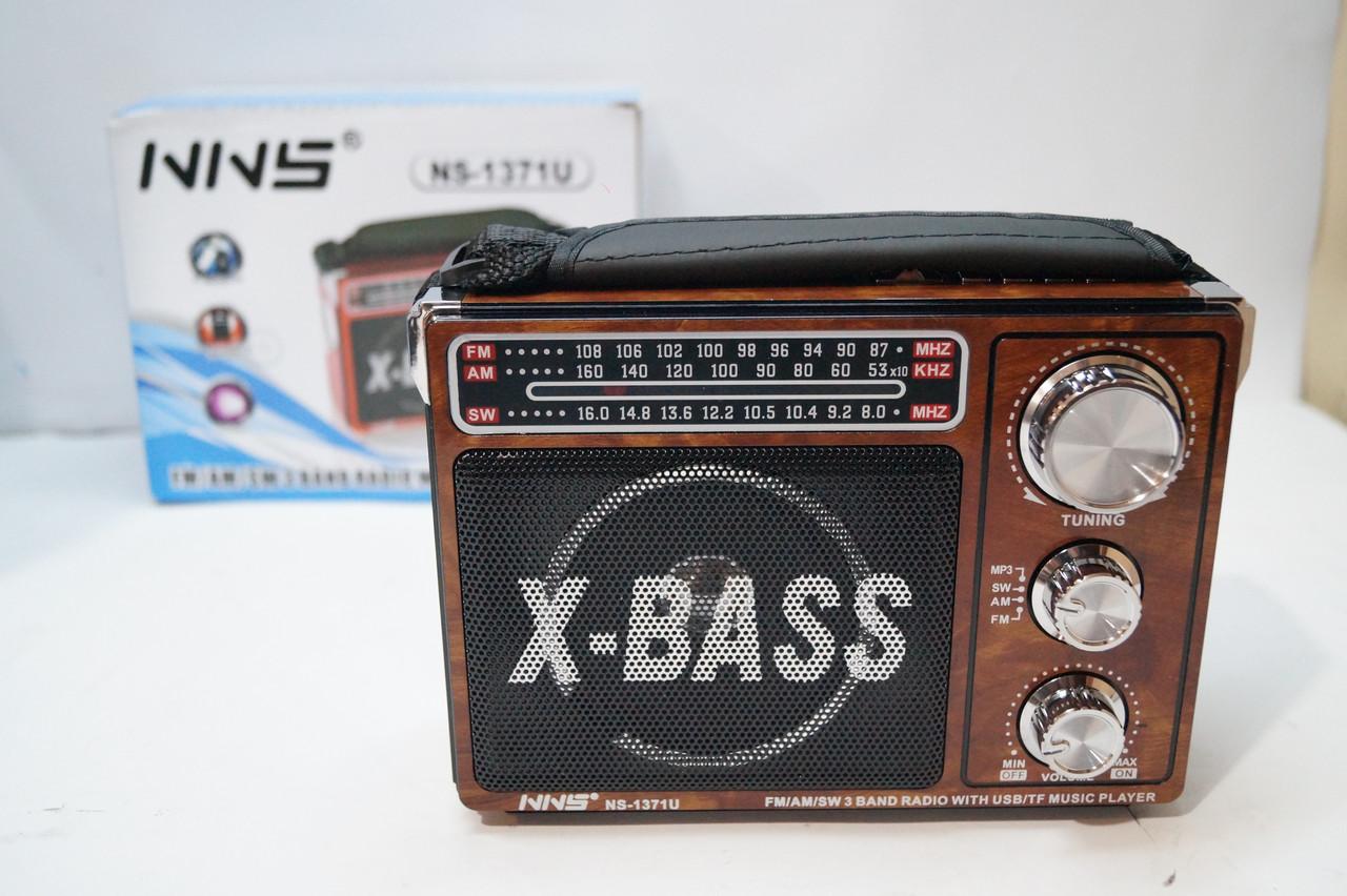 Радиоприемник NNS NS-1371 с фонариком