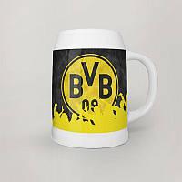 Бокал пивной 0,5 л Borussia Dortmund 3 (Футбол)