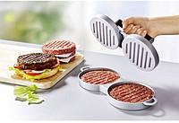 Пресс для гамбургеров (двойной) - алюминиевый, диаметр 11,5 см, фото 1