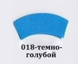 Фоамиран темно голубой, 30x35 см, 0,8-1,2мм., Иран