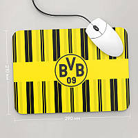 Коврик для мыши 290x210 Borussia Dortmund 1 (Футбол)