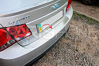 Накладка на задний бампер Chevrolet Cruze