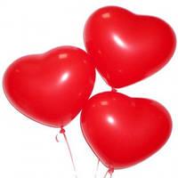 """Воздушные шарики """"Сердце"""" 44см 50шт"""