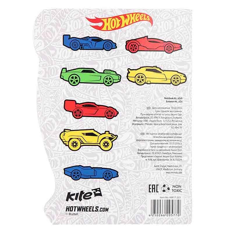 """Блокнот """"Kite"""" А6, 60 листов LP17-223"""