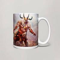 Чашка, Кружка Centaur Warrunner, Dota 2, #2 (Дота 2, два)