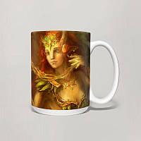 Чашка, Кружка Enchantress, Dota 2 (Дота 2, два)