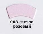 Фоамиран светло розовый, 60x35 см, 0,8-1,2мм., Иран