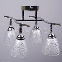 Люстра спот (направляемая) на 4 лампочки (хром) P3-8359/4/CR+WT