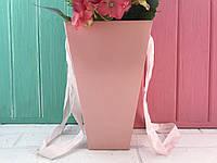 Складная Флористическая Коробка Роз. (плотная) (набор из 10 шт)