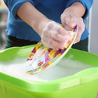 Органические средства для мытья посуды
