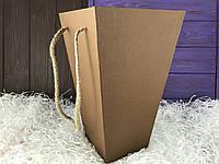 Флористическая коробка (коричневая)