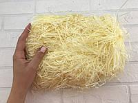 Наполнитель Тишью (100 г.)  Светло-желтый