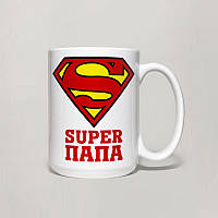 Чашка, Кружка Super Папа, №2