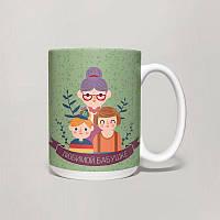 Чашка, Кружка Любимой Бабушке