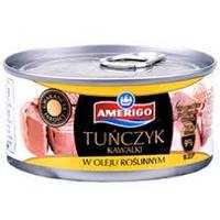 Amerigo Tunczyk Kawalki — Тунец В Растительном Масле