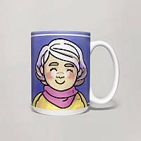 Чашка, Кружка Молодой бабушке