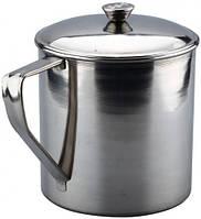 Кружка с крышкой Ø130 мм, кухонная посуда