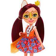 Лялька Энчантималс Лисичка Фелісіті і лисенек Флік / Enchantimals Felicity Fox and Flick, фото 4