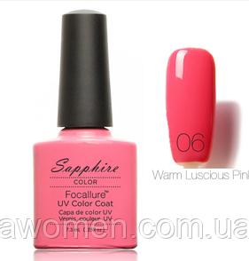 Гель лак Sapphire 7.3ml № 06