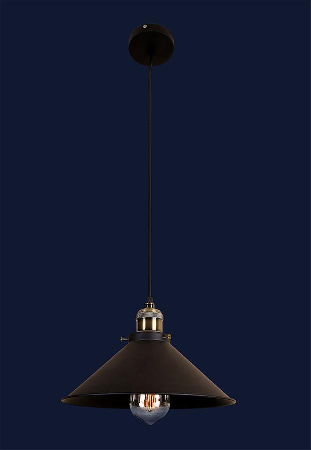 Светильник подвесной LOFT L526855-1 BK(300)