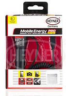 Автомобильная зарядка 12/24 В Heyner 511500 MicroUSB провод+USB  1A