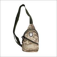 Тактическая барсетка, городская сумка, сумка через плечо пиксель