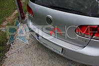 Накладка на задний бампер VW Golf 6 Hatchback