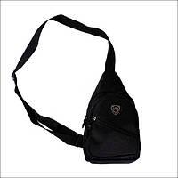 Тактическая барсетка, городская сумка, сумка через плечо черная