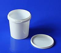 Контейнер под пресервы (500 мл) белый стакан