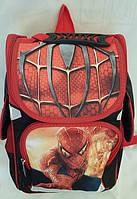 Рюкзак ортопедический для мальчиков первоклассников, Человек паук