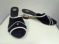 Шлепанцы, босоножки на каблуке Giuseppe Mancini, 38р.