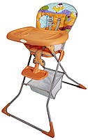 Стульчик для кормления Lolo (оранжевый) WK30-L61-004, Wonderkids