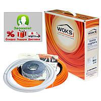 Теплый пол электрический Греющий кабель Woks-10, 100 Вт (11м)