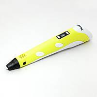 3D ручка MYRIWELL RP100B с LCD экраном + подарок набор PLA пластика