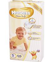 Подгузники Huggies Elite Soft  5 (56шт.) 12-22 (Хаггис Элит Софт)