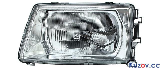 Фара Audi 100 С3 82-91 левая (Depo) механич. 1315090E 443941029A