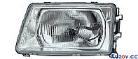 Фара передняя для Audi 100 C3 '82-91 правая (DEPO) механич. 1315100E