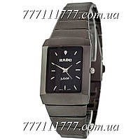 Часы женские наручные Rado Jubile Quartz Black-Silver