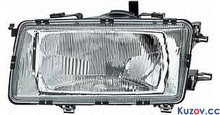 Фара Audi 80 B3 86-91 левая (Depo) механич./электрич. 1307090E