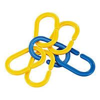 Набор для обучения Соедини кольца (8025-60C), Viga Toys