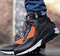Зимние кроссовки Кроссовки Nike Air Max 90 SneakerBoot Brown/Crimson от магазина ehnolyuks.prom.ua 099-4196944