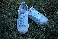 Кеды Converse реплика  детские  белые, фото 1