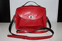Кожаная женская сумка ручной работы