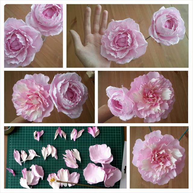 квіти з фоамирана