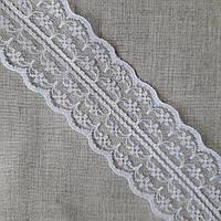 Кружево гипюр Нежность белое, 4,5 см, фото 1